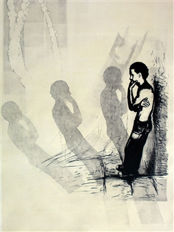 Juan Salazar - From the Series Ausencia 2 Collograph, Prints