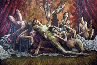 Germán Valles Fernández - The Fine Arts Oil on Canvas, Paintings