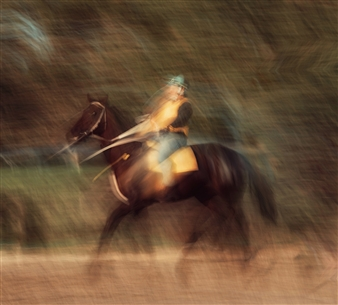 Daniel Johananoff - Jockey Archival Pigment Print on Plexiglass, Photography