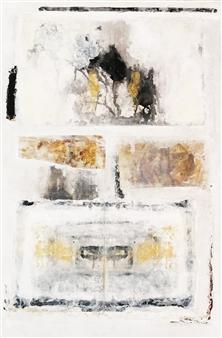 Lorena Becerra - Rorschach Test 2 Mixed Media on Canvas, Mixed Media