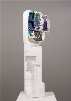 Judy Ann Filipich - Sculpture Free Standing with Styrofoam Base Styrofoam with Plastic, Sculpture