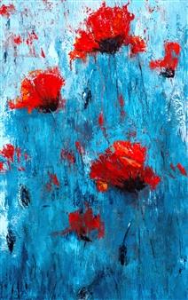 Olena Bogatska - Poppyseed Oil on Canvas, Paintings