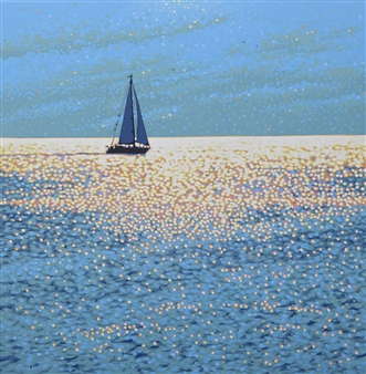 Gordon Hunt - Sail Away Acrylic on Canvas, Paintings