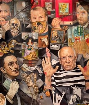 Rosana Largo Rodríguez - Painters Oil on Canvas, Paintings