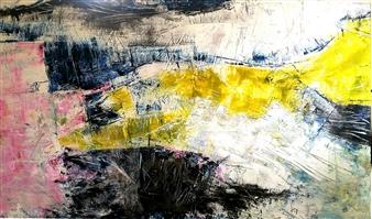 Vuce - Caput Oil on Board, Paintings
