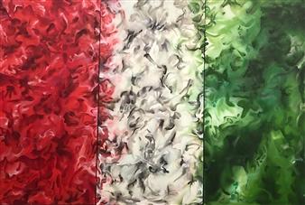 Tringa Khadija - Destination Oil on Canvas, Paintings