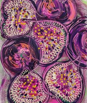 Jessica Watson-Thorp - Forbidden Figs Giclee Print on Canvas, Prints