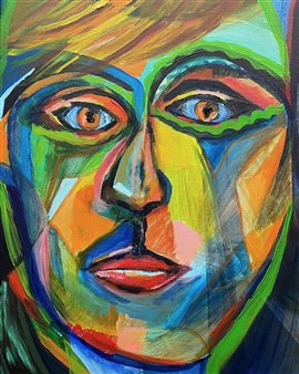 Sal Ponce Enrile - Son Acrylic on Canvas, Paintings