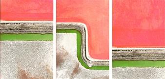Shajeel Rehman - Destination on the Open Sky_02 Oil on Canvas, Paintings