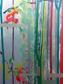 Cristina Prieto Crespi - Natura III Oil on Canvas, Paintings