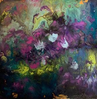 Jodi DeCrenza - Beauty of Bermuda Acrylic on Canvas, Paintings