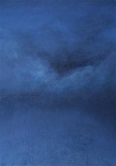 Jonathan Mann - Hurricane David Oil on Canvas, Paintings