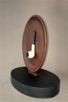 Richard Light - Is This A Pipe? Bronze, Sculpture