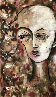 Laura Pretto Vargas - Abnormal III Acrylic on Canvas, Paintings