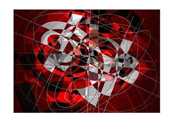 Dar Wolfe - Quantum Prima Mixed Media & Ink on Paper, Mixed Media