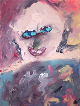 David Morrison - Reflection Acrylic on Canvas, Paintings