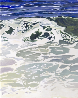 Gabriella Mirabelli - Nauset #3 Acrylic on Canvas, Paintings