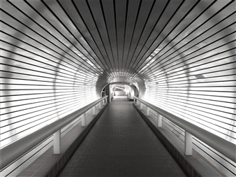 Wolf Spicer - The Tunnel Archival Pigment Print, Photography