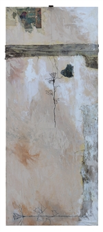 Vincent Donato - Wood Panel Mixed Media on Birch Wood Panel, Mixed Media