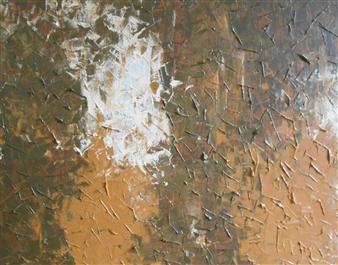 Carol Kavish - Birch Acrylic on Canvas, Paintings
