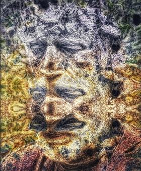 Jesua Marian - Multiple Doubt Archival Pigment Print, Digital Art