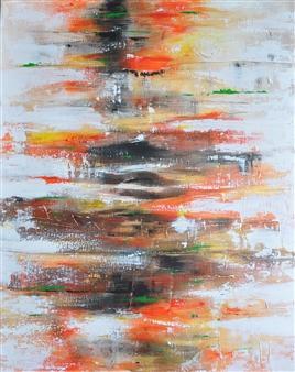 Barbara Wykrota - If You Acrylic on Canvas, Paintings