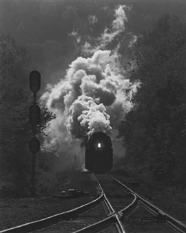 Paris Gray - Steam Engine Archival Pigment Print, Photography