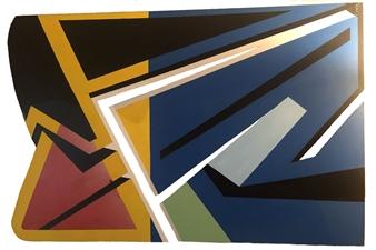 Craig Freeman - Untitled Acrylic on Chipboard, Paintings