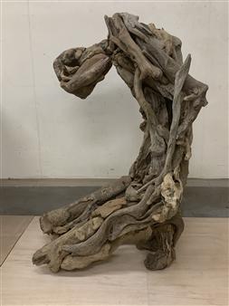 Akemi Fujita - Helplessness Wood, Sculpture