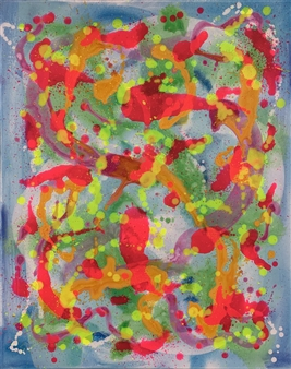 Russell Jacobs - Untitled 12 Acrylic on Canvas, Paintings