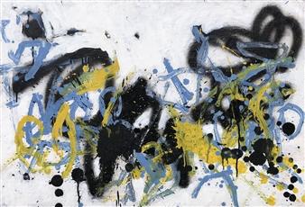 Marek Wasylewicz - Sat 2 Acrylic & Oil on Fiber Board, Paintings