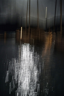 Renzo Sanchez-Silva - Moonlight Over Hidden Marina Photograph on Metallic Paper, Photography