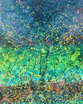 Alexander Seccombe - Aura Acrylic on Canvas, Paintings