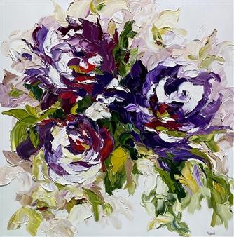 Rachelle Brady - Swept Off My Feet Oil on Canvas, Paintings