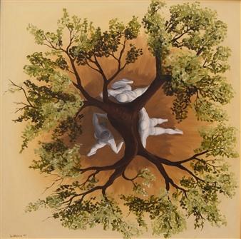 Di Stefano - Tutori (Tutors) Oil on Canvas, Paintings