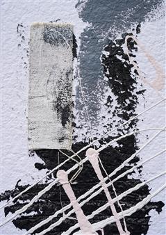 Merritt Spangler - Endings No. 7 Acrylic on Paper, Paintings