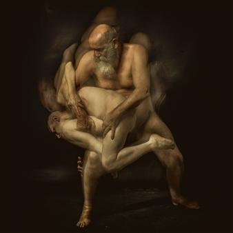 Joel Bardeau - Ares & Aphrodite-III Photograph on Fine Art Paper, Photography