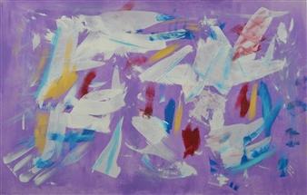 Carlos E. Porras M. - Chelsea II Acrylic on Canvas, Paintings