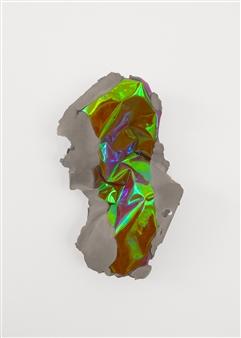 Mateusz von Motz - Prima Materia Energy Stone,Orange Mixed Media, Sculpture