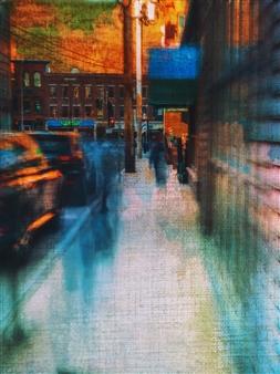 Evan William Plunkett - Blue Movement Archival Pigment Print, Photography