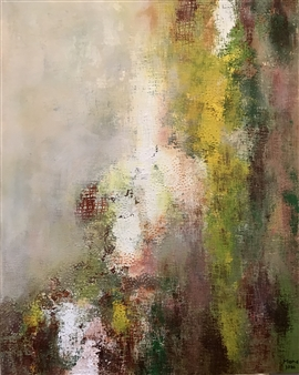 Mona Taqi - Fog Acrylic on Canvas, Paintings