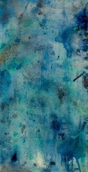 Abigail Custis - This Little Light of Mine Acrylic on Canvas, Mixed Media