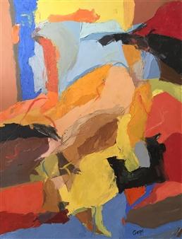 Cristina Prieto Crespi - Durante La Siesta Oil on Canvas, Paintings