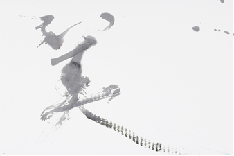 Hiroshi Wada (和田 浩志) - BEAUTY_01 Japanese Calligraphy on Paper, Paintings