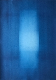 Iswanto Soerjanto - Untitled #1 Cyanotype on Arches Paper, Photography