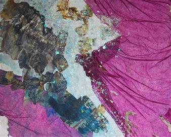 Vanessa Elaine - Spreading My Wings Mixed Media on Canvas, Mixed Media