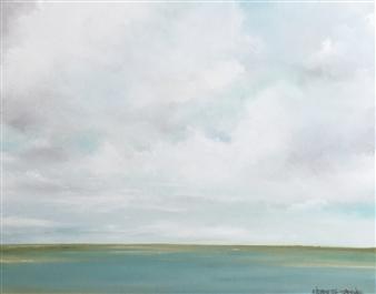 Elizabeth Sabine - Seascape no. 292 Oil on Canvas, Paintings