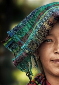 Danny Johananoff - Mayan Girl Archival Pigment Print on Plexiglass, Photography