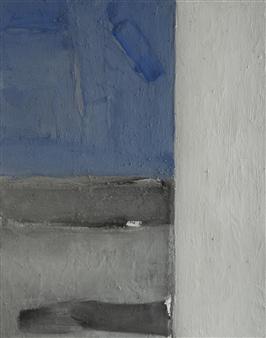 Israel Feldmann - Twins 1 Pigment on Plywood, Paintings