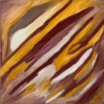 Judy Ann Filipich - Brown in Symphony Oil on Canvas, Paintings